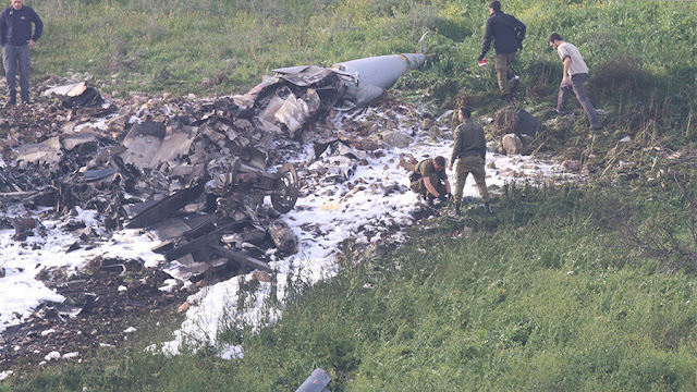 Israeli fighter jet shot down by Syrian anti-aircraft fire In Hindi