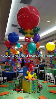 Elmo theme party decoration ideas