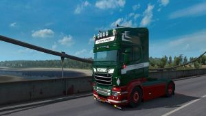 Red Green Skin for Scania RJL