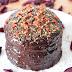 Zdrowy deser - torcik w polewie czekoladowej