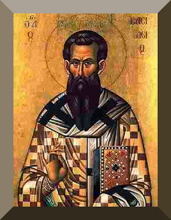 Icon of Saint Basil the Great - PD-Art