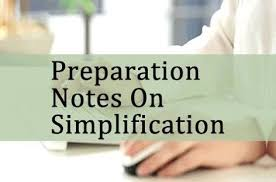 SIMPLIFICATION ALL HAND WRITTEN NOTE AND SHORTCUT TRICKS NOTE