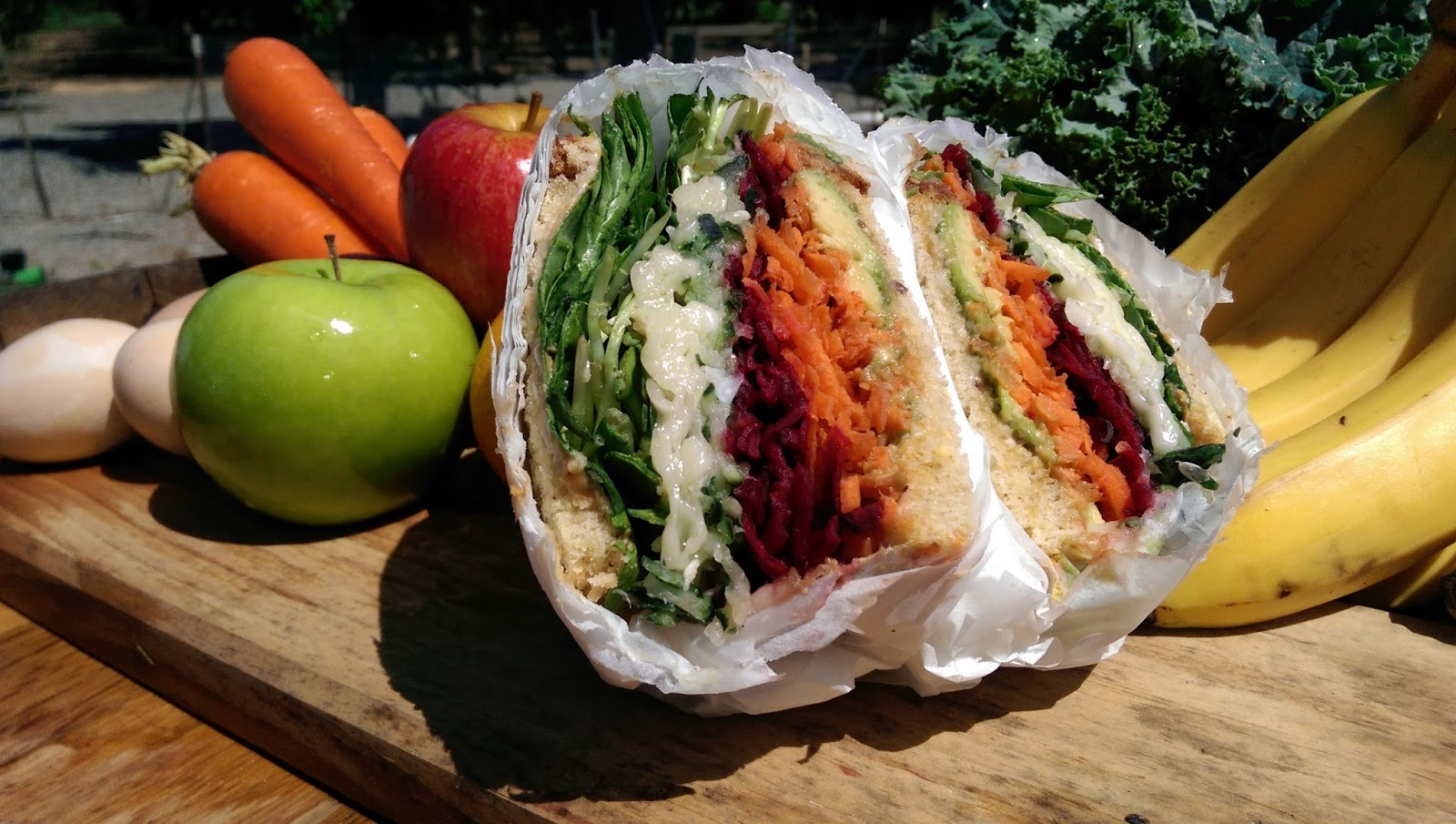 Veggie Supreme Sandwich at The Nutrition Shoppe in Vacaville ...