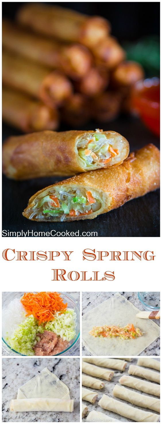 Chrispy Spring Rolls