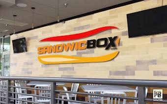 fastfood sandwich logo avm