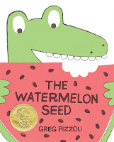 Cover image: The Watermelon Seed by Greg Pizzoli