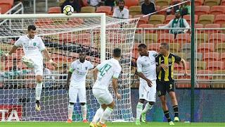 نتيجه مشاهده مباراه الاهلي السعودي والفيصلي اليوم 5-10-2018 انتهت بفوز الاهلي 2 - 0