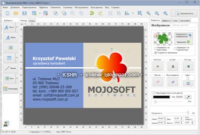 Kshr mojosoft businesscards mx 50 portable reheart Images
