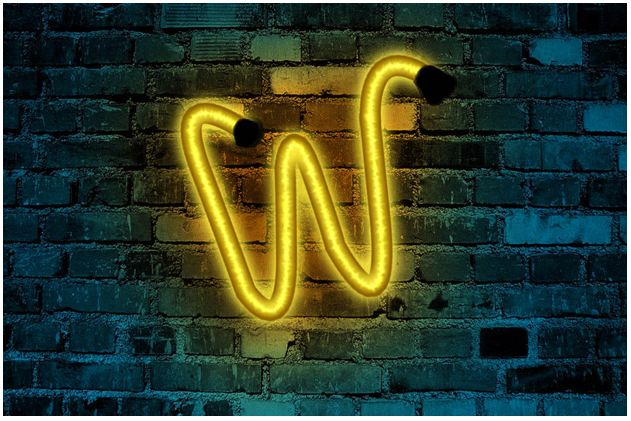 How to create neon text effects in Photoshop