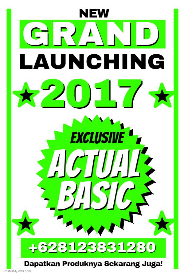 Actual Basic 2017