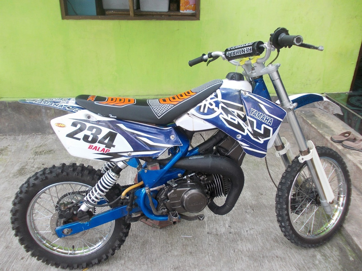 Gambar Modifkasi Motor Yamaha RX King Body Trail Ind Modified