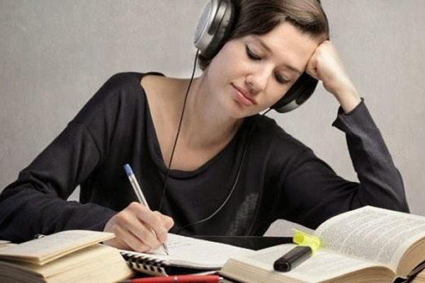 Does listening to music while you do homework help