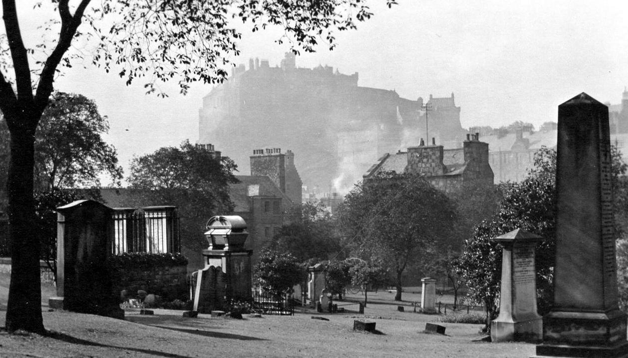 edinburgh castle old