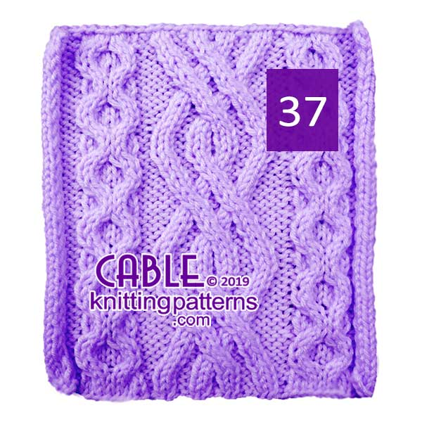 Cable Knitting Pattern 37