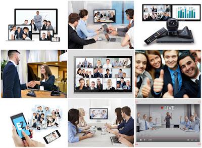 Giải pháp làm việc với thiết bị họp trực tuyến ngày càng phổ biến