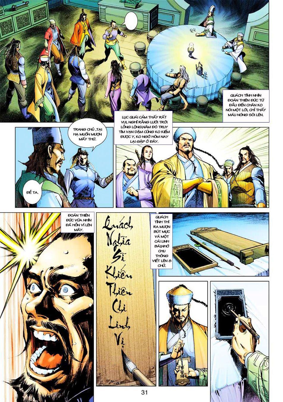 Anh Hùng Xạ Điêu anh hùng xạ đêu chap 33 trang 31