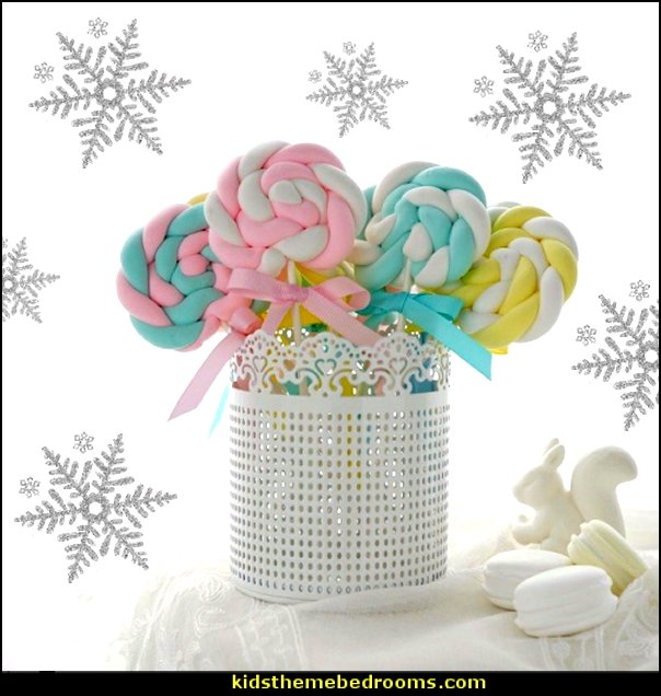 Decoration Lollipop  candy Christmas theme decorating - candy themed christmas decorations - christmas candyland decorations -  candy ornaments -  candy shaped holiday ornaments - candy themed Christmas decor -   lollipop candy swirls Throw Pillows - Candy Christmas Tree  - candy stripe Chritmas decor - Candy Cupcake Ornaments