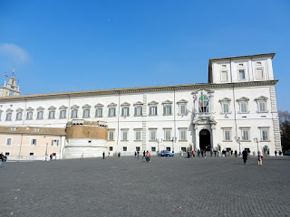 The Palazzo Quirinale in Rome is the official residence  of the presidents of Italy