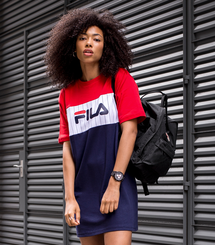 fila outfits. Vans Are Still My Go-to For Footwear, So I Couldn\u0027t Help Pair Them With This Dress, Though I\u0027m Wearing White Here Time. Fila Outfits L