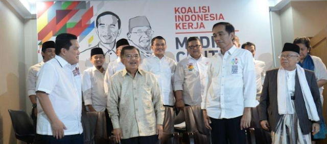 Tim Kampanye Jokowi-Kiai Ma'ruf Gunakan Strategi Rekonsiliatif