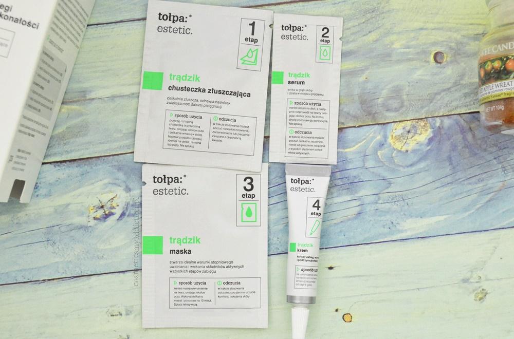 Tołpa Estetic, trądzik - 4 intensywne zabiegi korygujące niedoskonałości