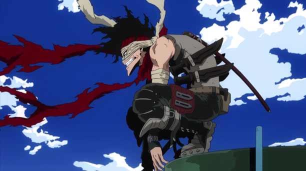Karakter Anime Pengguna Pisau - Stain