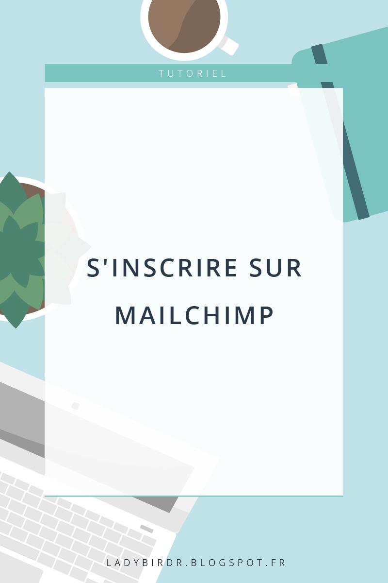 Newsletters : S'inscrire sur MailChimp