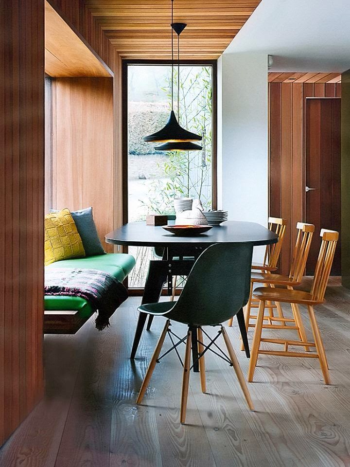 Small Modern Dining Room