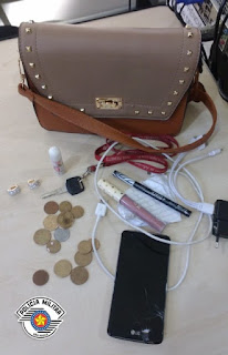 Polícia Militar prende homem por furto de bolsa no centro de Registro-SP