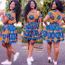 Ankara Short Gown Styles 2017: Latest Lovely Creative Collection