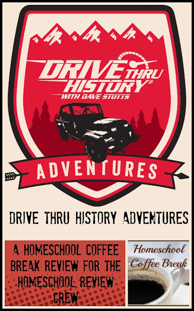 Drive Thru History Adventures (A Homeschool Coffee Break Review for the Homeschool Review Crew) on Homeschool Coffee Break @kympossibleblog.blogspot.com
