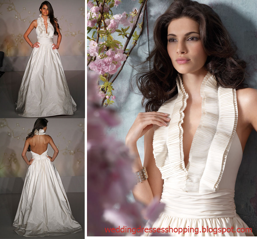 Latest Wedding Gowns 2014: Blog For Dress Shopping: Wedding Dresses 2014 New Trend