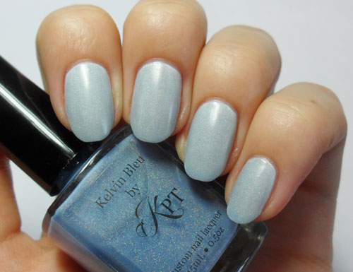 Nail Stories: Polished by KPT - Kelvin Bleu and Hot Like