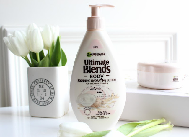Garnier Ultra Blends Body Delicate Oat Collection Review