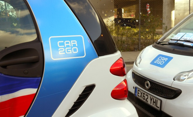 Two Car2go logos