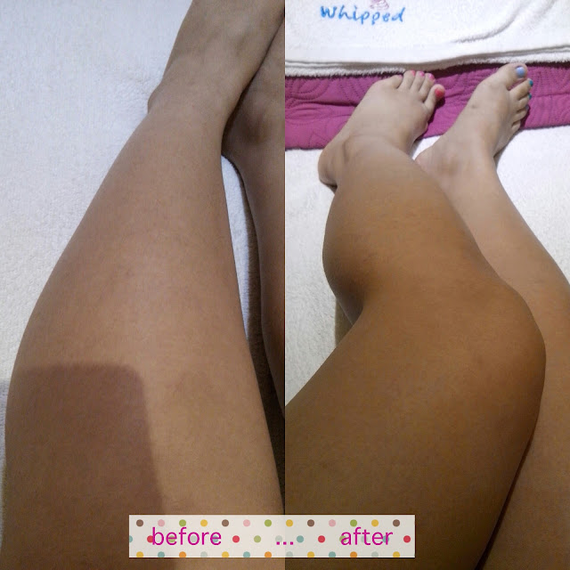 sugar waxing full leg