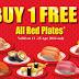 11-15 April 2016 Sakae Sushi Buy 1 Free 1