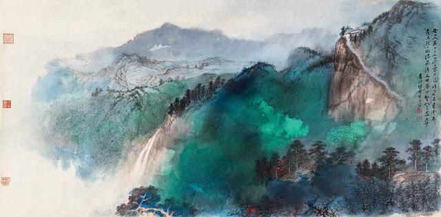 Resultado de imagen de zhang daqian pinturas