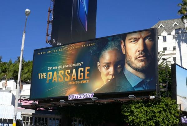 The Passage series premiere billboard