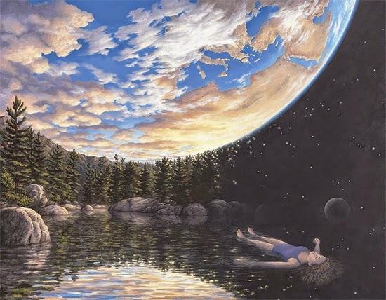 Ilusão de ótica - Na Terra ou no Espaço