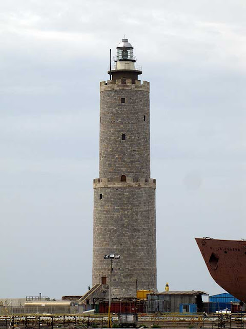 Fanale dei Pisani, lighthouse of the port of Livorno