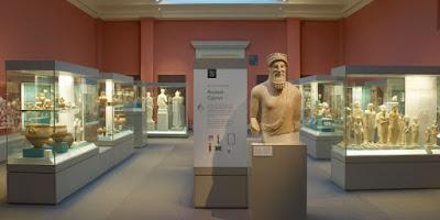 Έκδοση με Κυπριακές αρχαιότητες σε δύο μουσεία της Αγγλίας