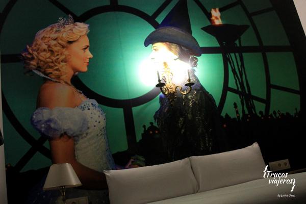 Madrid Hotel del Teatro musical Wicked