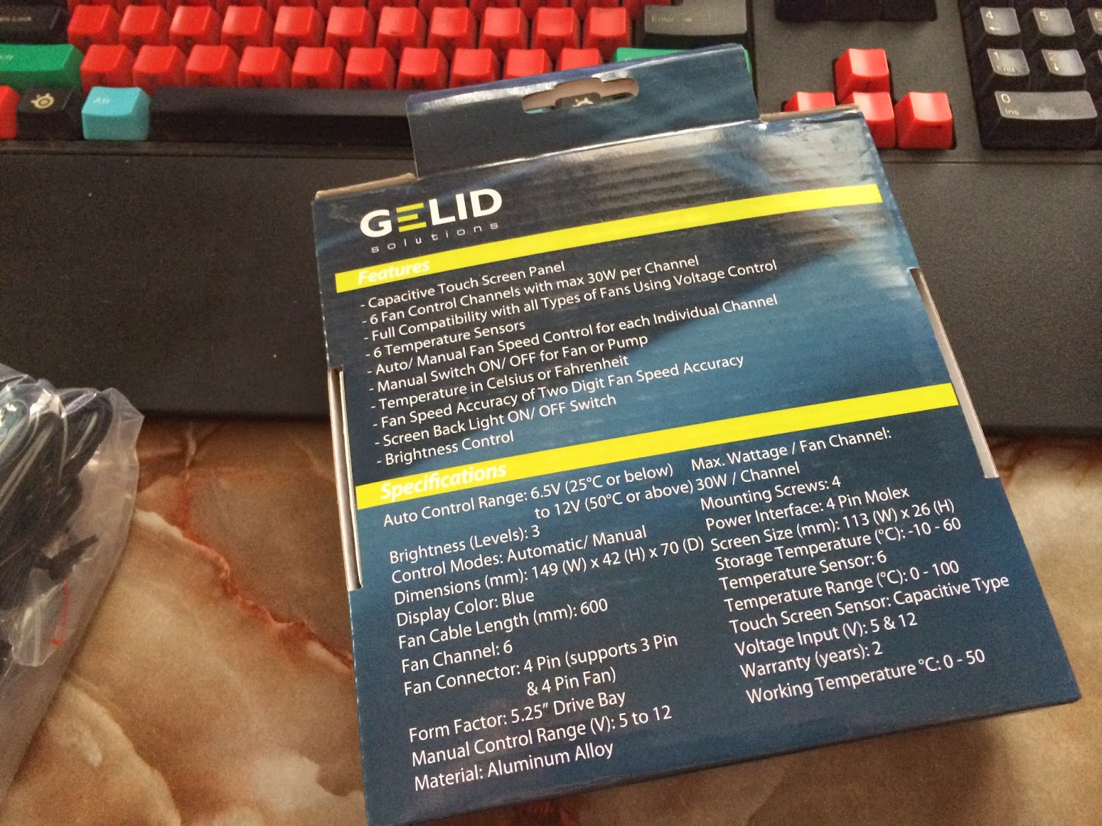 Unboxing& Review - Gelid Solutions SpeedTouch 6 Fan Controller 33
