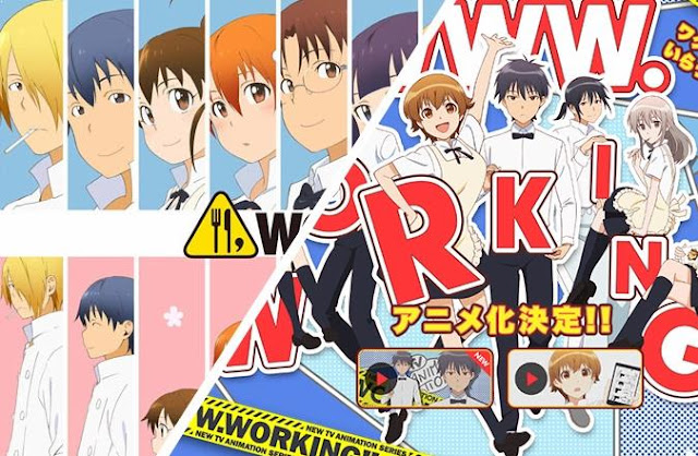 Anime Slice of Life Comedy Terbaik - Working Series