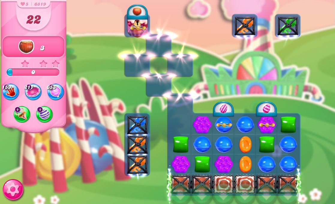 Candy Crush Saga level 6819