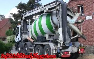 Foto truk molen besar