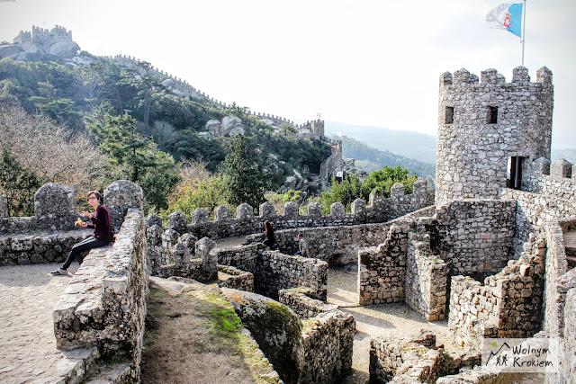 Zamek Maurów Sintra Portugalia
