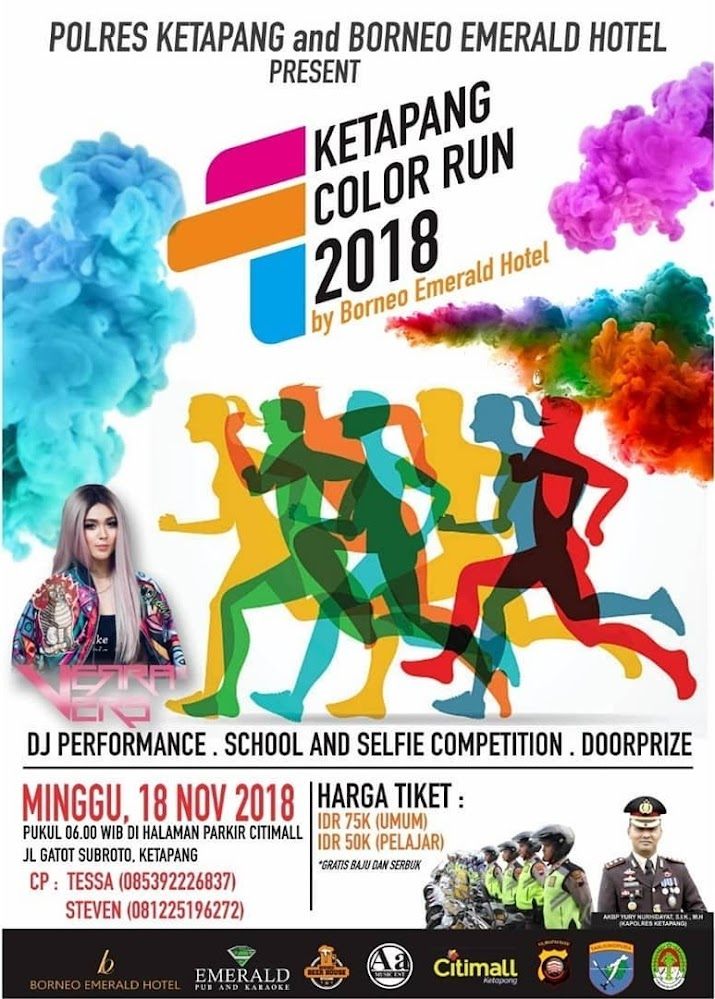 Ketapang Color Run • 2018