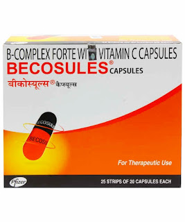 Becosules capsule uses and side effects